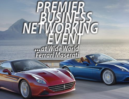 Goldkap Premier Networking Event At Wide World Ferrari Maserati