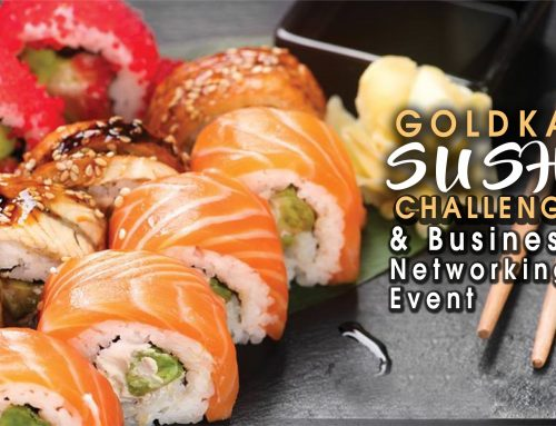 Goldkap Sushi Challenge & Premier Business Networking Event